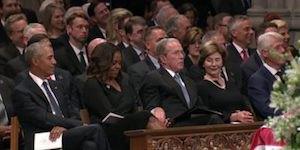 Bush and Michelle